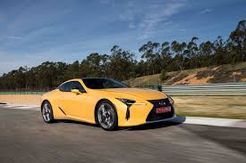 lexus two door coupes first drive 2018 lexus lc 500 and 500h automobile magazine
