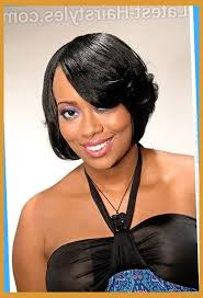 featheres sides bob hairstyle 16 side swept hairstyles for black women pertaining to brilliant