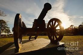 siege canon cannon at yorktown by morrison siege canon at yorktown