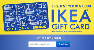 free 1000 ikea gift card free gift cards