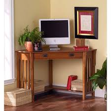 Overstock Corner Desk Blvd Mission Style Corner Desk Free Shipping Today
