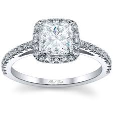 princess cut engagement rings with halo princess cut halo engagement ring