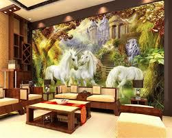 chambre foret beibehang enfants chambre fond décoration 3d papier peint forêt