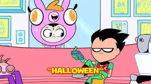 halloween png images image halloween title card png teen titans go wiki fandom