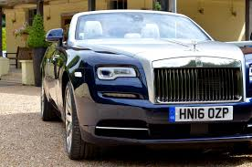 rolls royce dawn blue rolls royce dawn uk review with video