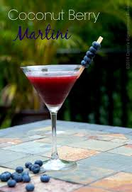 blueberry martini recipe coconut berry martini carrie u0027s experimental kitchen