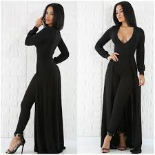 cape jumpsuit black sleeve cape jumpsuit setters boutique