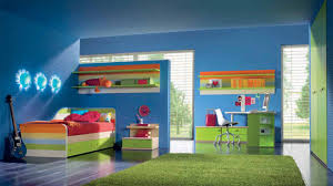 modern blue wall bedroom ideas for women that can be decor with