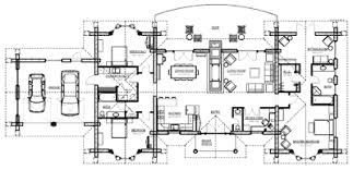 large floor plans custom log home design murray arnott design