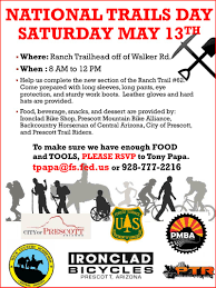 join us the ranch trailhead saturday may 13