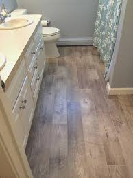 bathroom floor ideas vinyl vinyl plank flooring in bathroom complete ideas exle