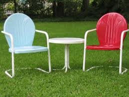 Metal Patio Furniture Paint - retro metal lawn chairs vintage for children babytimeexpo furniture
