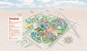 Disney Downtown Map Image Disneyland Resort Map Jpg Disney Wiki Fandom Powered