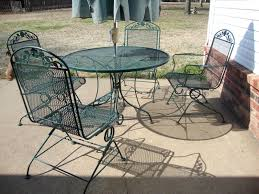 Mesh Patio Table Audacious Iron Mesh Patio Furniture Ideas Iture On Pinterest With