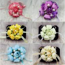 Cheap Corsages Discount Wrist Corsages For Prom 2017 Wrist Corsages For Prom On