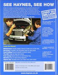citroen c1 petrol 05 11 haynes repair manual haynes service