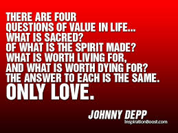johnny depp quotes inspiration boost