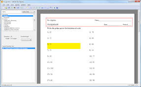 creating an assignment with kuta software