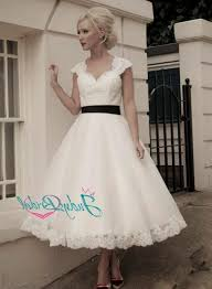 short lace wedding dress with sleeves u2013 vintage inspired 2016 2017