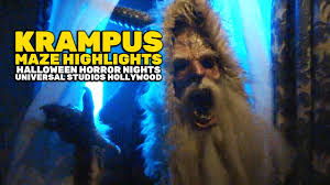 halloween horror nights krampus maze highlights at halloween horror nights 2016 universal
