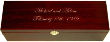 personalized wooden boxes personalized wooden wine box with free engraving
