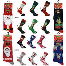 christmas novelty socks mens or ladies prezzyshop com