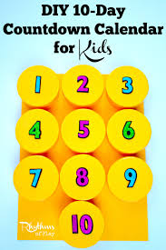 countdown to halloween calendar diy 10 day countdown calendar for kids rhythms of play