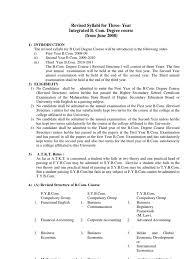 1 f y b com syllabus 2010 11 uop system of linear equations