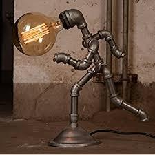 Steunk Light Fixtures Kongfu Master Industrial L Desk Regarding Steunk Idea 4