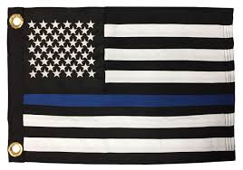 Halloween Flags Outdoors Thin Blue Line Flags Black And White American Flags