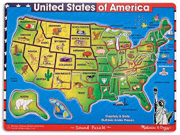 usa map kindergarten wood puzzle usa map geography autism and kindergarten united