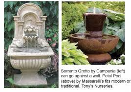 Backyard Fountains For Sale by Stay Cation Iii Turn Your Backyard Into A Fountained Getaway