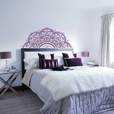 Headboard Wall Decor by Half Mandala Headboard Wall Decal Half Mandala Car Decal