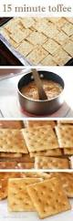 christmas saltine crackers coated with caramel and