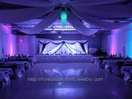 ceiling draping entrance decor noretas decor inc