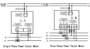 power factor meter wiring diagram all wiring diagram and wire