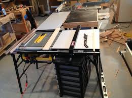 dewalt 10 portable table saw extending the fence on a dewalt dw745 table saw by holzarbeiterin