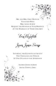 catholic wedding invitation 26 catholic wedding invitation wording nuptial mass vizio wedding