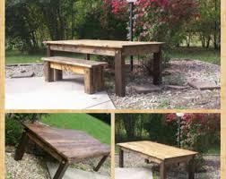 8 foot farm table etsy