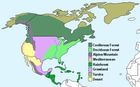america climate zones map 8 climate regions of america studyblue