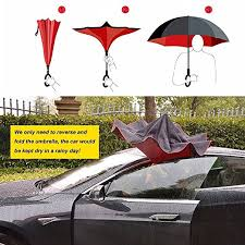 Kentucky travel umbrella images Zoto durable tote inverted umbrella 2 layer upside down compact jpg