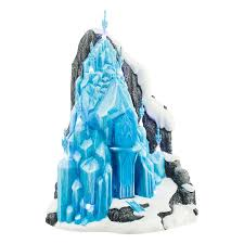 amazon department 56 frozen elsa u0027s ice palace lit house