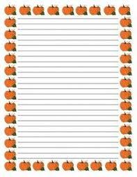 pumpkin writing paper writing paper homework and writing goals