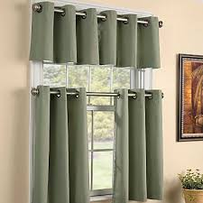 Grommet Top Valances What Color Name Is This Green Grommet Valance