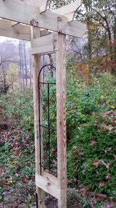 Arbor Trellis Plans How To Build A Rustic 6 U0027 Garden Arbor
