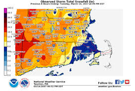 Map Of New England Coast by East Coast Snowstorm Woodtv Com