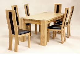 Solid Oak Extending Dining Table And 6 Chairs Kitchen Marvelous Dining Table With Bench And Chairs Solid Oak