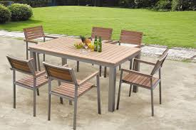 Plastic Wood Chairs Poly Outdoor Furniture