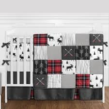 Flannel Crib Bedding Baby Bedding And Crib Bedding