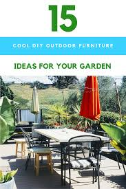 15 customizable diy outdoor furniture ideas to help transform your